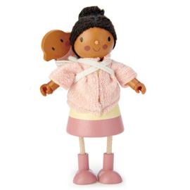 Poppenhuis Popje - Mevr. Forrester met Baby - Tender Leaf Toys