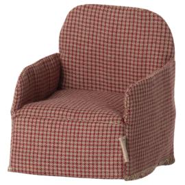 Maileg Stoel voor muizen, Mouse Chair, Red