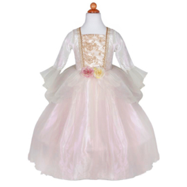 Prinsessenjurk Golden Rose Princess Dress, 5-6 jaar