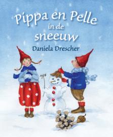 Pippa en Pelle in de sneeuw kartonboekje - Daniela Drescher - Christofoor