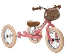 Olli Ella fietsmandje, schoudertas Wit. Geschikt voor de 2-in-1 Steel modellen.