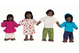Plan Toys Poppenhuis Familie, ethnic family