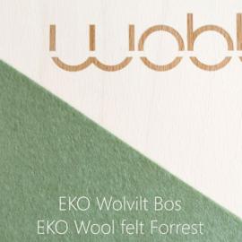 Wobbel original linnen / whitewash – vilt bos