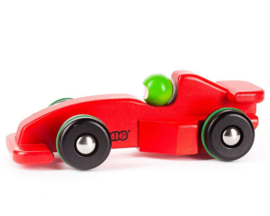 Bajo Houten Formule 1 Racewagen, rood
