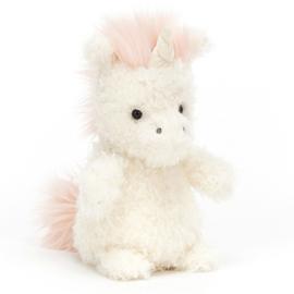 Jellycat Knuffel Eenhoorn 18cm, Little Unicorn