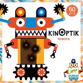 Djeco KINOPTIK Bouw en Animatie Set, Robots