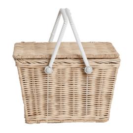 Olli Ella piki Basket picknickmandje Straw