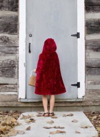 Roodkapje Cape, Red Riding Hood Cape, 5-7 jaar