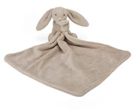 Jellycat Knuffeldoekje Konijn 33cm, Bashful Beige Bunny Soother