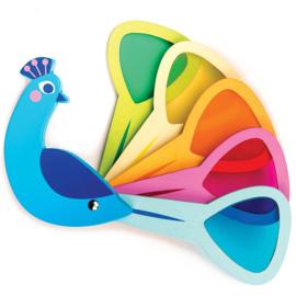Pauwenkleuren - kleurenkijker - Tender Leaf Toys