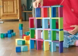 Grimm's houten blokkenset, Domino Rally