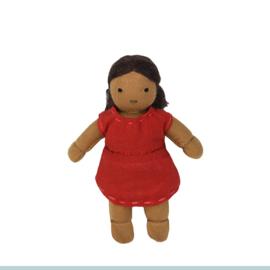 Olli Ella Holdie Folk poppenhuispopje Wren 11 cm