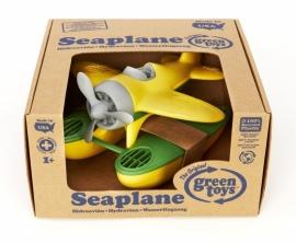 Green Toys Watervliegtuig 'Seaplane' geel