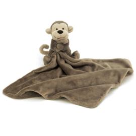 Jellycat Knuffeldoekje Aap 33cm, Bashful Monkey Soother