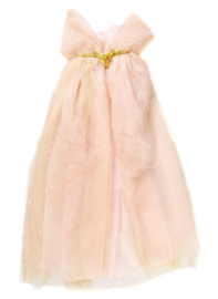 Prinsessen Cape Goud/roze, Royal Princess Cape, 5-7 jaar