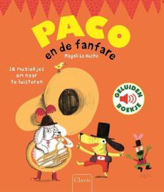 Paco en de Fanfare - Geluidenboekje - Clavis