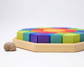 Grimm's houten puzzel Octagon groot