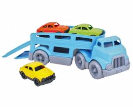 Green Toys Auto Transporter / Vrachtwagen met 3 auto's