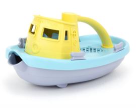 Green Toys Sleepboot Tugboat Pastel, Geel