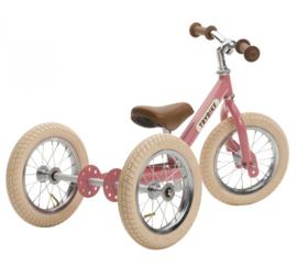 Trybike Steel 2-in-1 loopfiets vintage roze