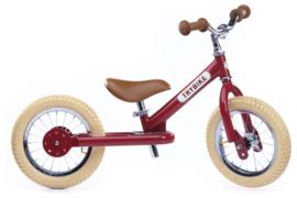 Trybike Steel loopfiets vintage rood