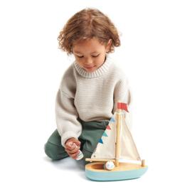 Zeilboot - Tender Leaf Toys
