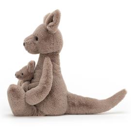 Jellycat Knuffel Kangoeroe 37cm, Kara Kangaroo