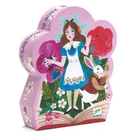 Djeco puzzel Alice in Wonderland, 50 st, 62x20 cm