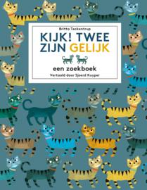 Kijk! Twee zijn gelijk - zoekboek - Britta Teckentrup
