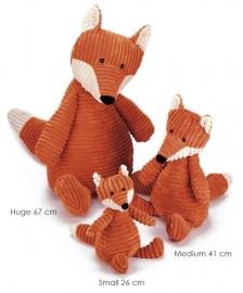 Jellycat Knuffel Vos 67cm, Cordy roy Fox Huge