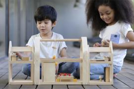 Plan Toys Poppenhuis, Slide & Go Dollhouse