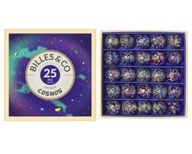 Billes & Co Knikkers in doosje, Uni Box Cosmos/Kosmos, 25 stuks