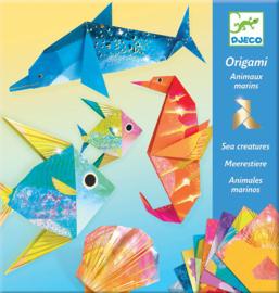 Djeco Origami Zeedieren, 7+