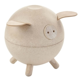 Plan Toys Spaarvarken, Piggy Bank, Blank