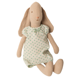 Maileg Bunny Size 2, Nightgown Mint, 26 cm