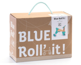 Djeco Loopfiets/Driewieler Blue Roll' it