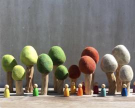 Papoose Set Bomen 'Winter', 3 stuks