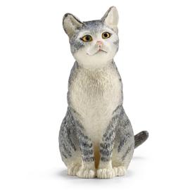 Schleich Kat zittend - 13771