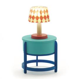 Djeco Poppenhuis tafel met LED lamp