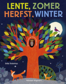 Lente, zomer, herfst, winter - Britta Teckentrup -  Veltman