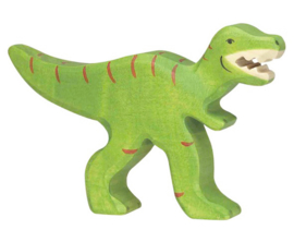 Holztiger Houten dino Tyrannosaurus Rex