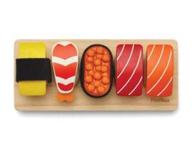 Plan Toys Houten Sushi Set, 15-delig