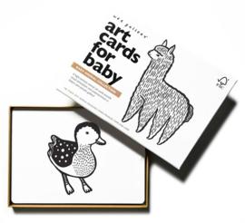 Wee Gallery Kijkkaarten, Baby Art Cards Babydieren