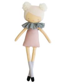 Alimrose Knuffelpop, Large Lottie Pink, 54 cm