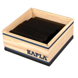 Kapla 40 plankjes in kistje, zwart