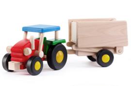 Bajo Grote Traktor met laadbak