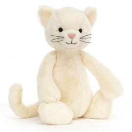 Jellycat Knuffel Poes 31cm, Bashful Cream Kitten Medium