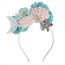 Zeemeermin Diadeem / Haarband, Mermalicious Headband