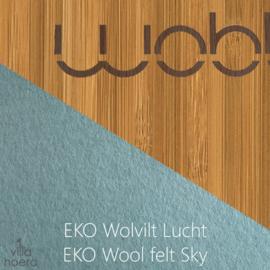 Wobbel original bamboe - vilt lucht