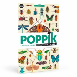 Poppik Sticker Poster, Insecten, 6+